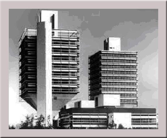Die damalige Olivetti Zentrale in Frankfurt